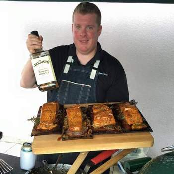 Grilling with Jack Daniels at Eggfest 2015