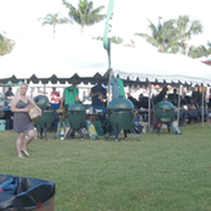 Some of the tents at Eggfest