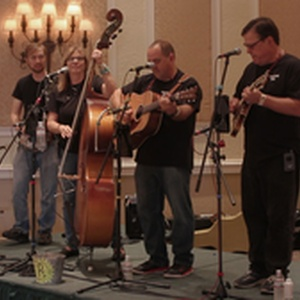 Penny Creek playing bluegrass