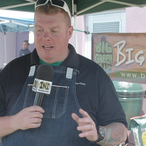 Discussing the Big Green Egg and Eggfest