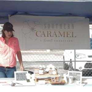 Southern Caramel had a booth with delicious sweets
