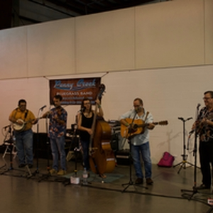 Penny Creek Bluegrass band entertained the crowd