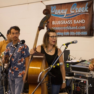 Penny Creek bringing the blue grass music