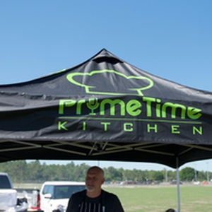 Primetime Kitchen's booth