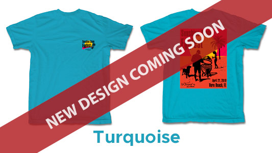 Turquiose Color T-Shirt